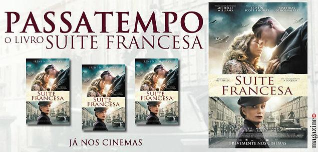 Suite Francesa Passatempo Livro Banner