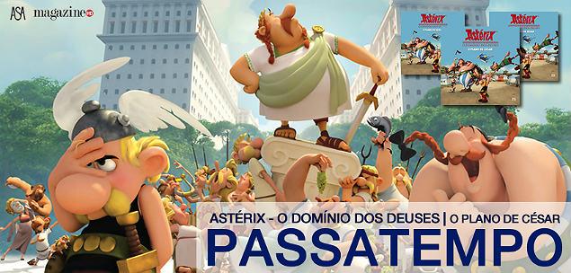 Astérix - O Plano de César - Banner