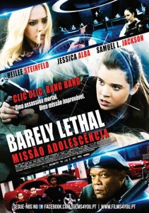 Barely poster