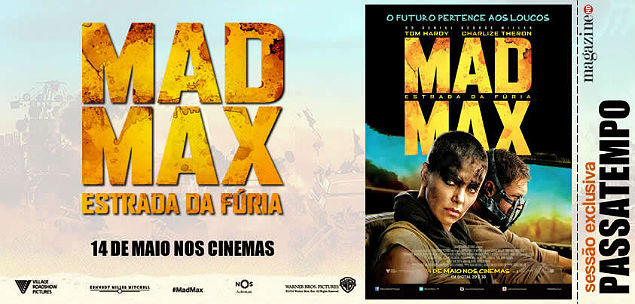 Mad Max Estrada da Fúria Passatempo MHD