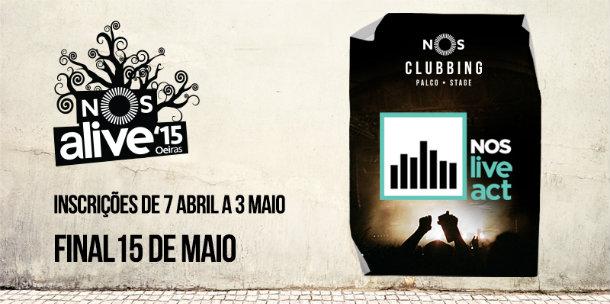 NOS Live Act | Bandas e DJs apuradas para o NOS Alive ...