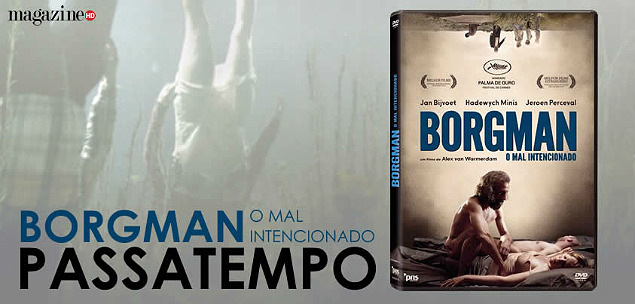Borgman O Mal-Intencionado Banner de DVD