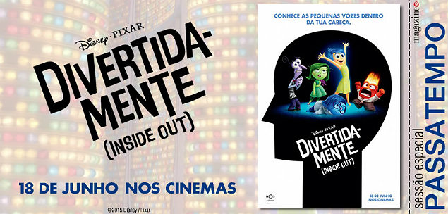 Divertida-mente (Inside Out) Novo Banner