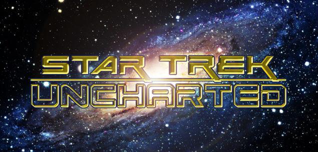 star trek uncharted logo