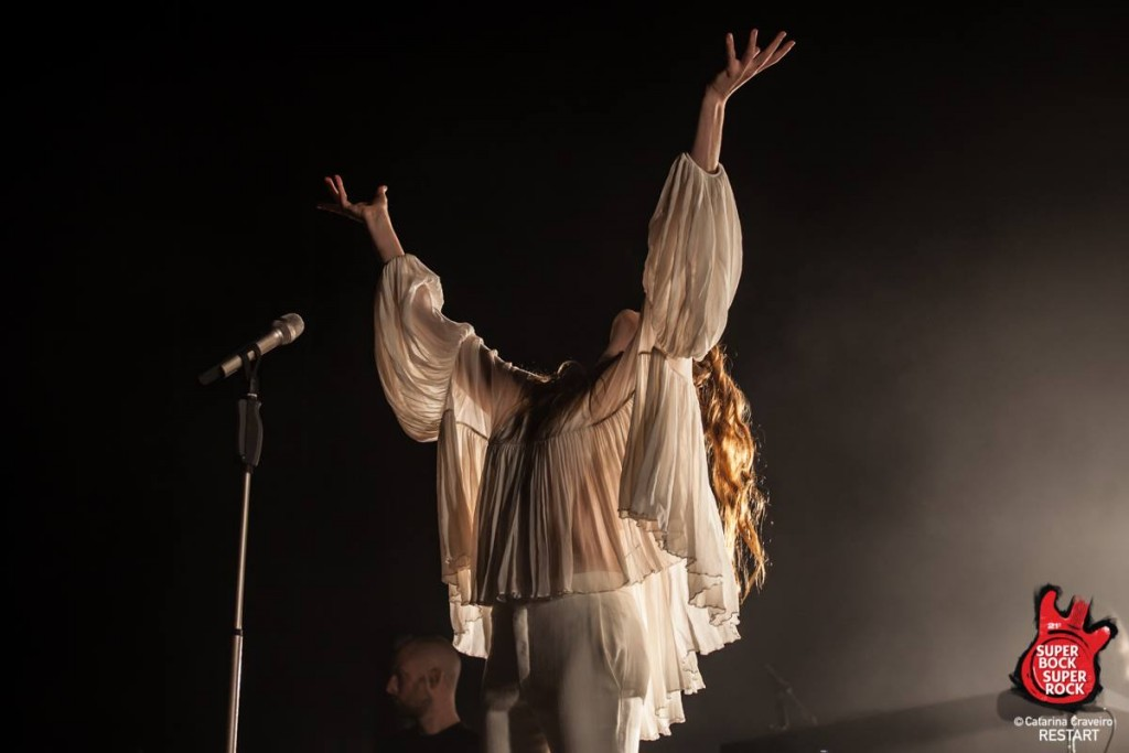 Florence And The Machine  - Photo by Super Bock Super Rock
