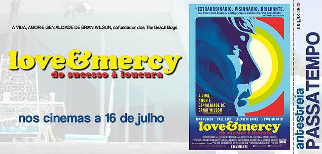 Love & Mercy – Do Sucesso à Loucura - Banner