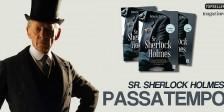 A Magazine.HD e a Topseller têm para oferecer exemplares do magnífico livro Sr. Sherlock Holmes.