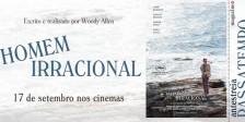 A Magazine.HD e a Pris Audiovisuais têm para oferecer convites duplos para a antestreia do novo filme de Woody Allen, Homem Irracional.