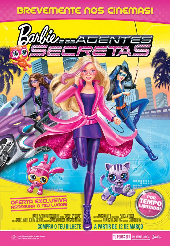 Barbie e as Agentes Secretas