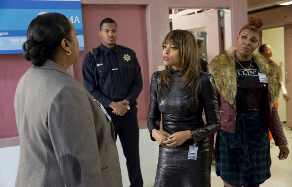 Cookie returns to the prison where she spent 17 years to put on a show for her friends.