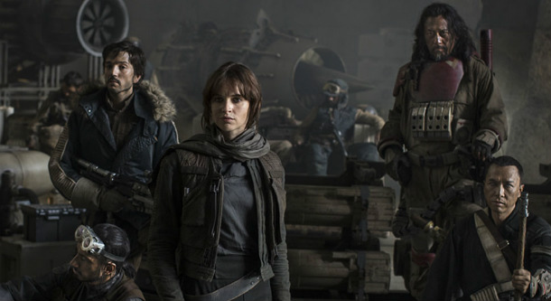 Rogue One cast edited