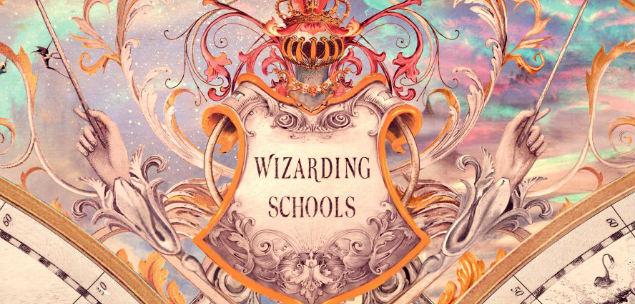 harry potter e outras escolas de magia