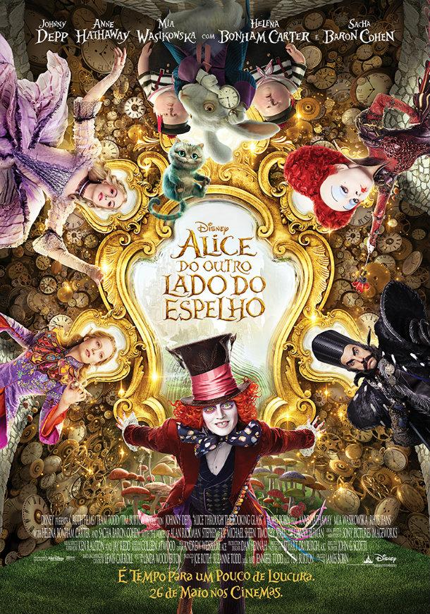 Alice Do Outro Lado do Espelho Poster