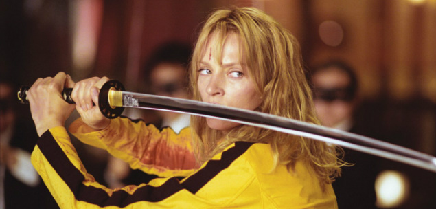 Quentin Tarantino Kill Bill Uma Thurman