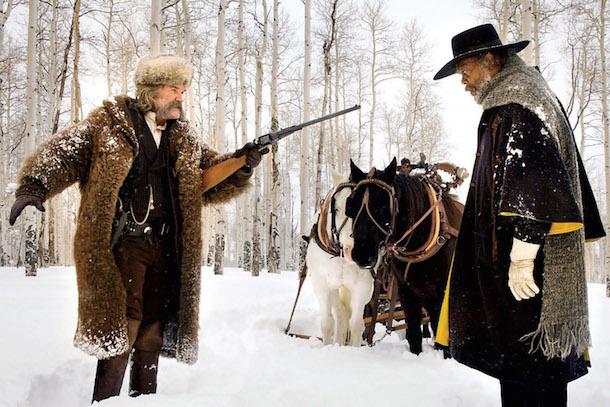 Russel e Jackson, começam na neve.