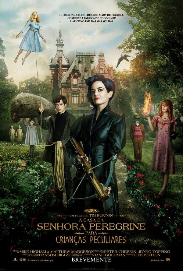 A Casa da Senhora Peregrine para Criancas Peculiares