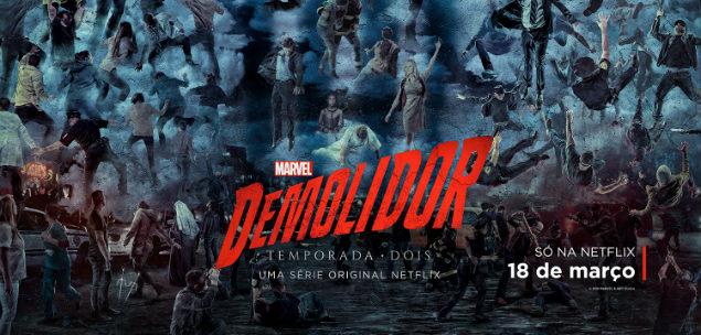 demolidor temporada 2 estreia netflix