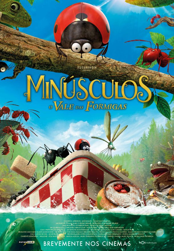 Minusculos: O Vale das Formigas