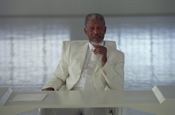 Morgan Freeman deus
