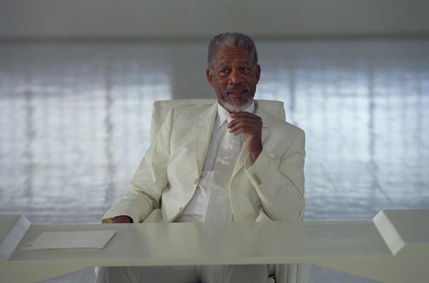 Morgan Freeman deus