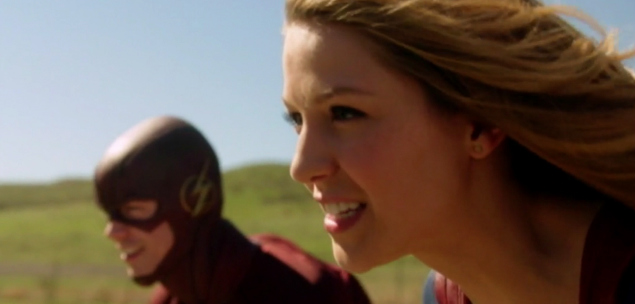 the flash supergirl episodio crossover portugal