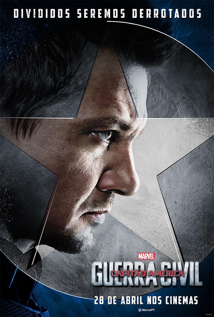 Capitão América Guerra Civil Posters