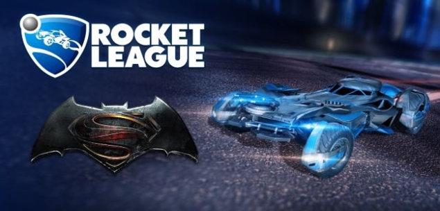 Rocket League Batmobile