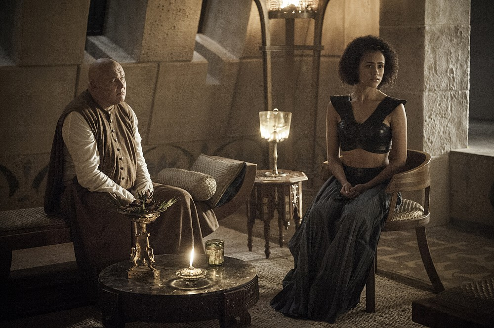 Game of Thrones Episódio 2 Sexta Temporada Imagens