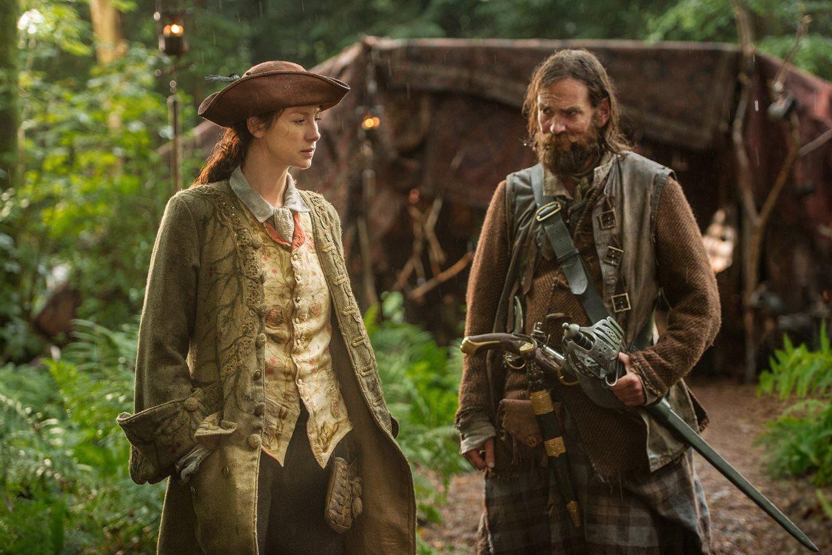 Outlander Claire Schwanger