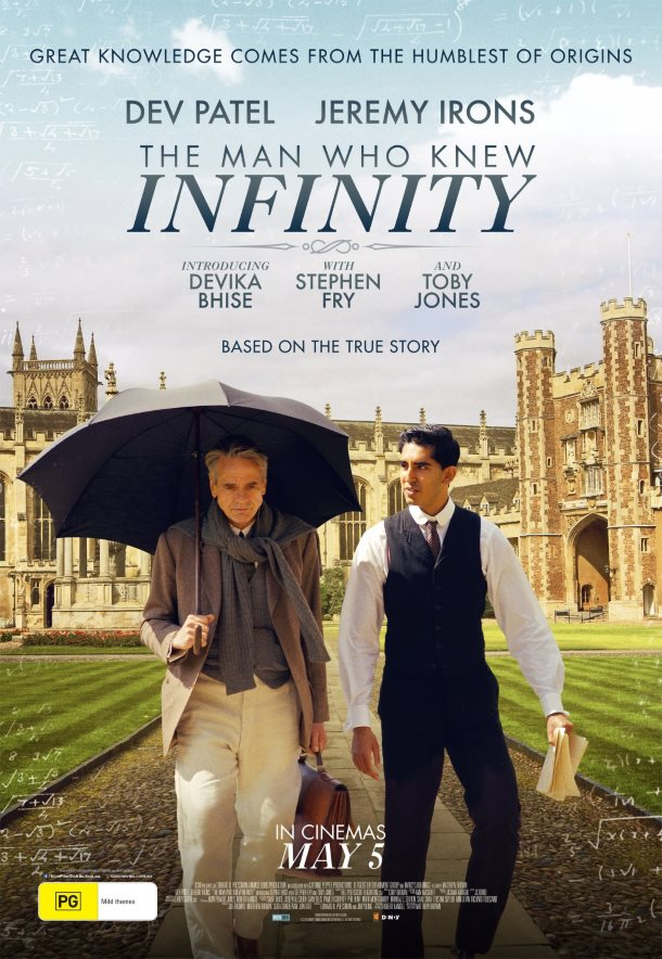 The Man Who Knew Infinity posters
