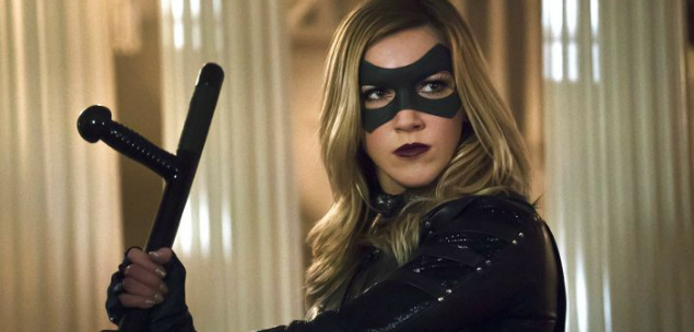 black canary morre em Arrow