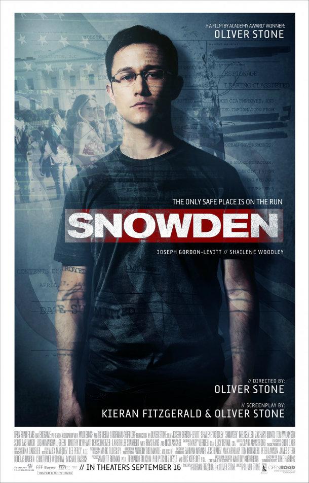 Snowden filme 2016 poster