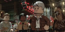 Harrison Ford, Carrie Fisher, Daisy Ridley e muitos outros regressam para dar voz às suas personagens LEGO.