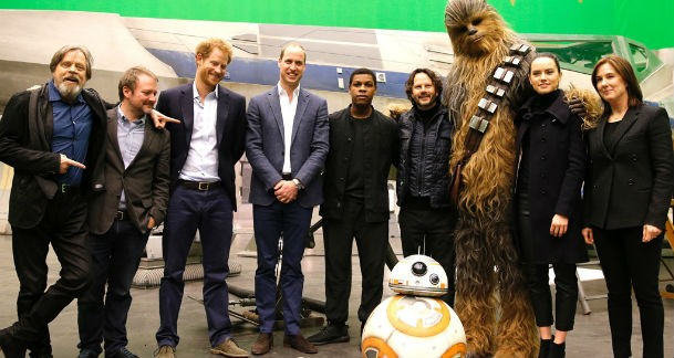 Star Wars Prince Harry and William