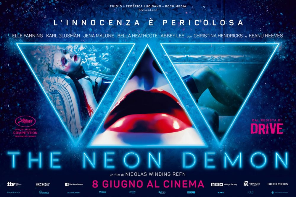 melhores posters the neon demon
