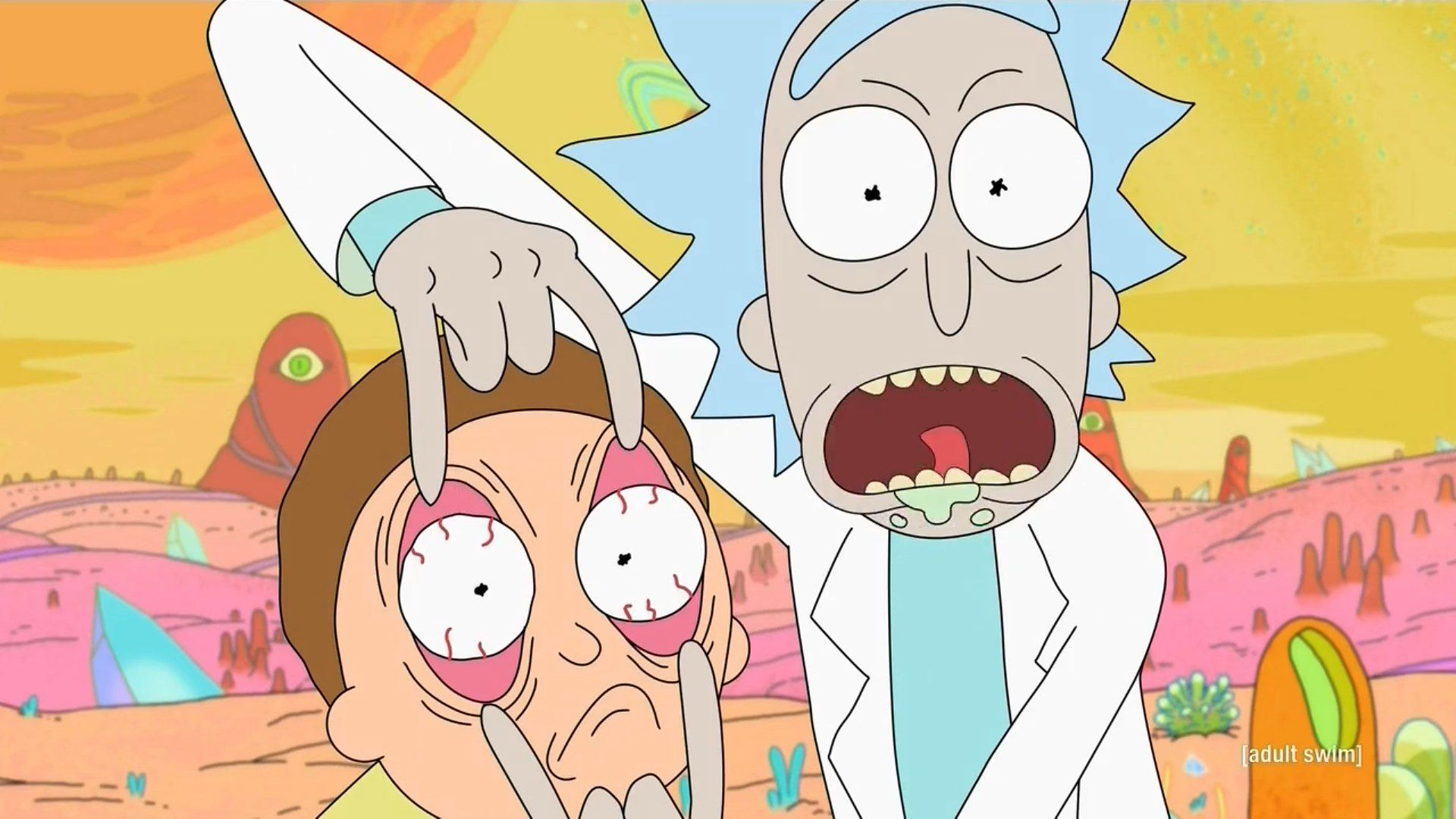 Netflix rick and morty