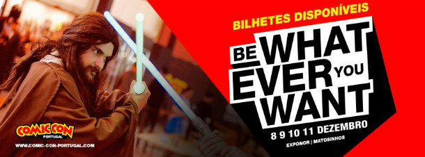 Comic Con Portugal 2016 bilhetes à venda
