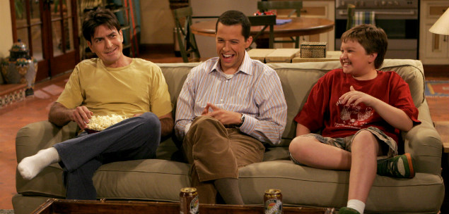 two and a half men destaque