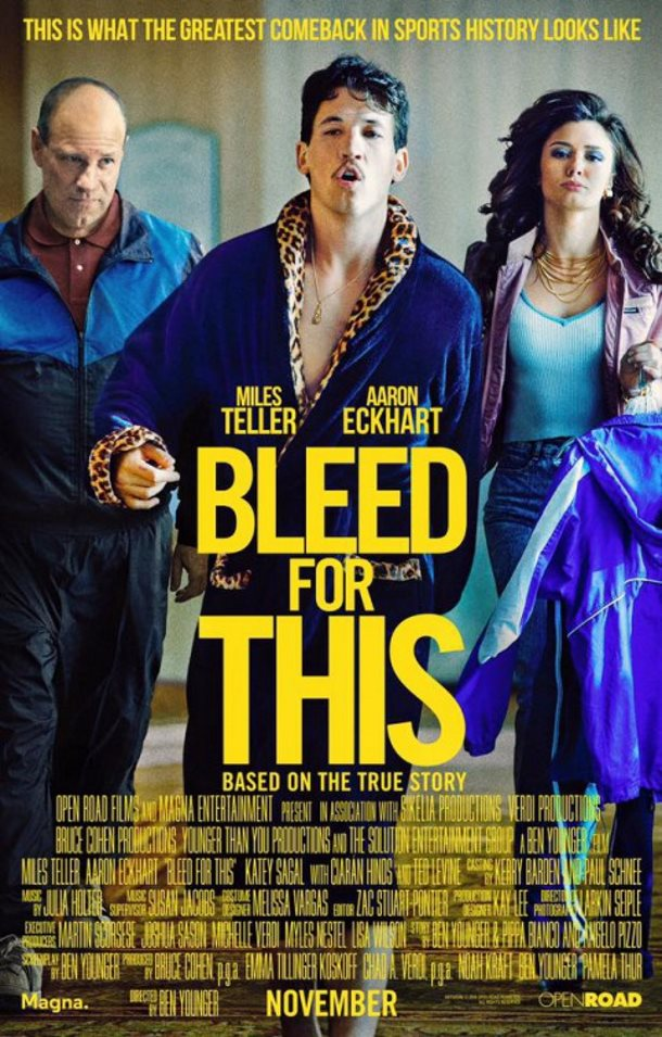 bleed for this melhores posters