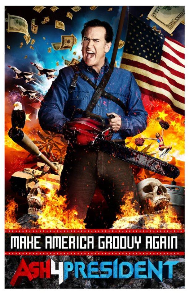Ash vs Evil Dead melhores posters