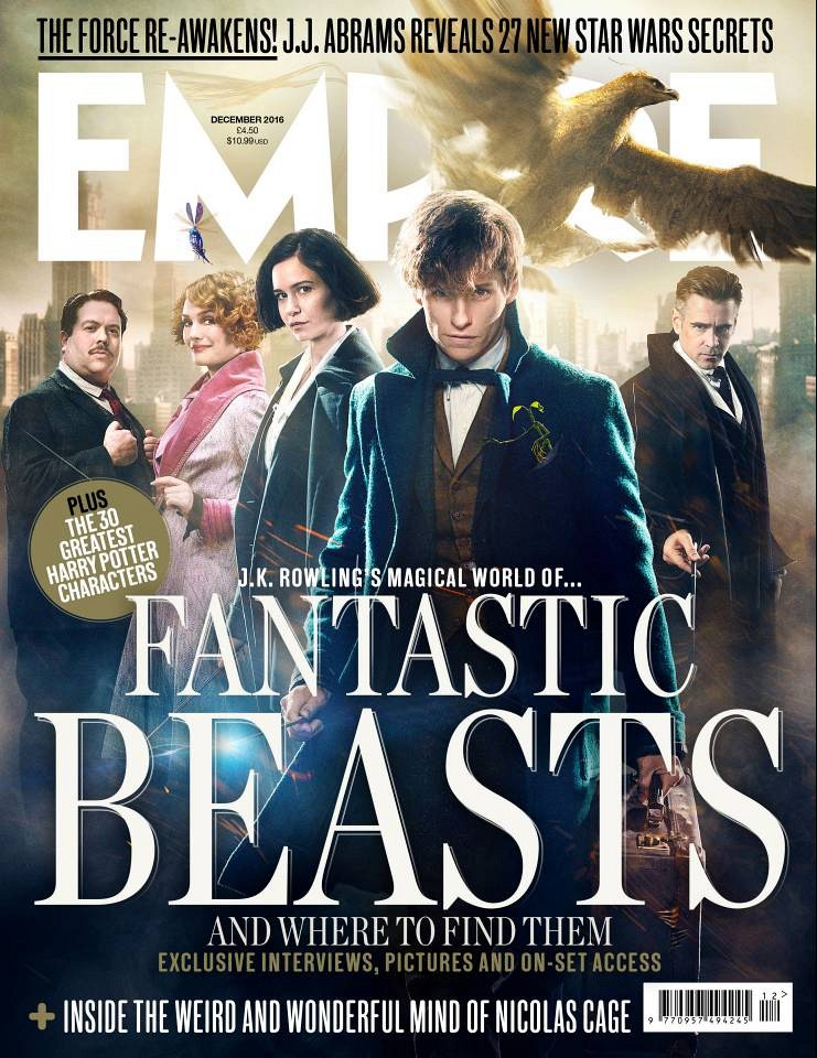 Fantastic Beasts and Where to Find Them novas imagens Empire