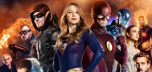 Supergirl Arrow Flash Legends Crossover