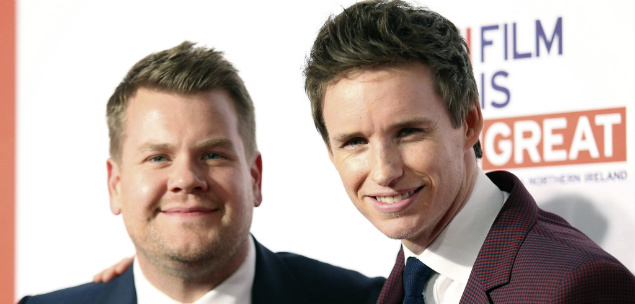 Eddie Redmayne The Late Late Show James Corden