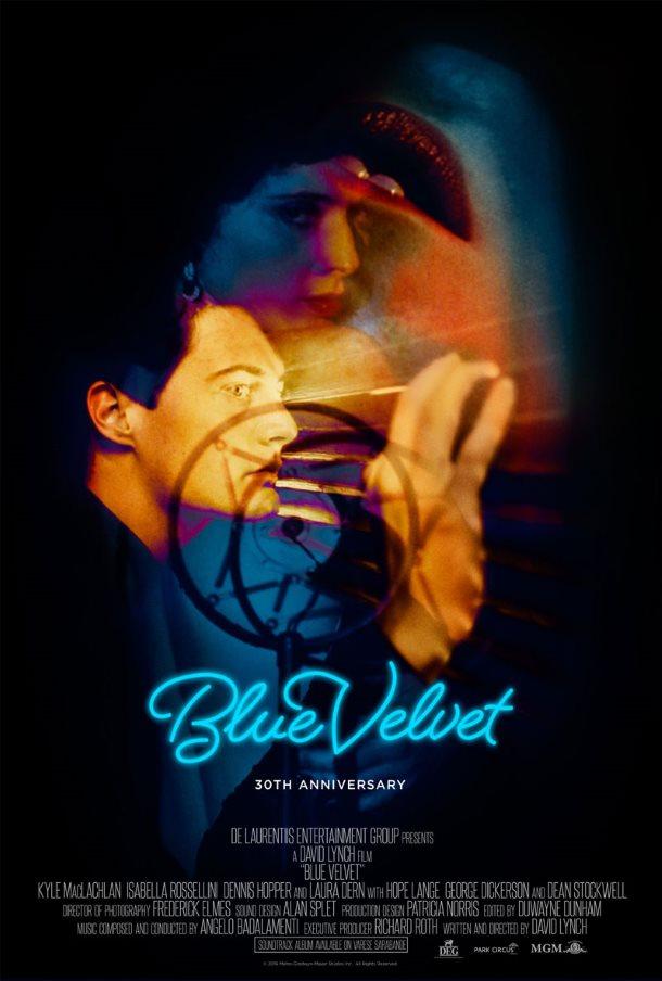 blue velvet veludo azul melhores posters