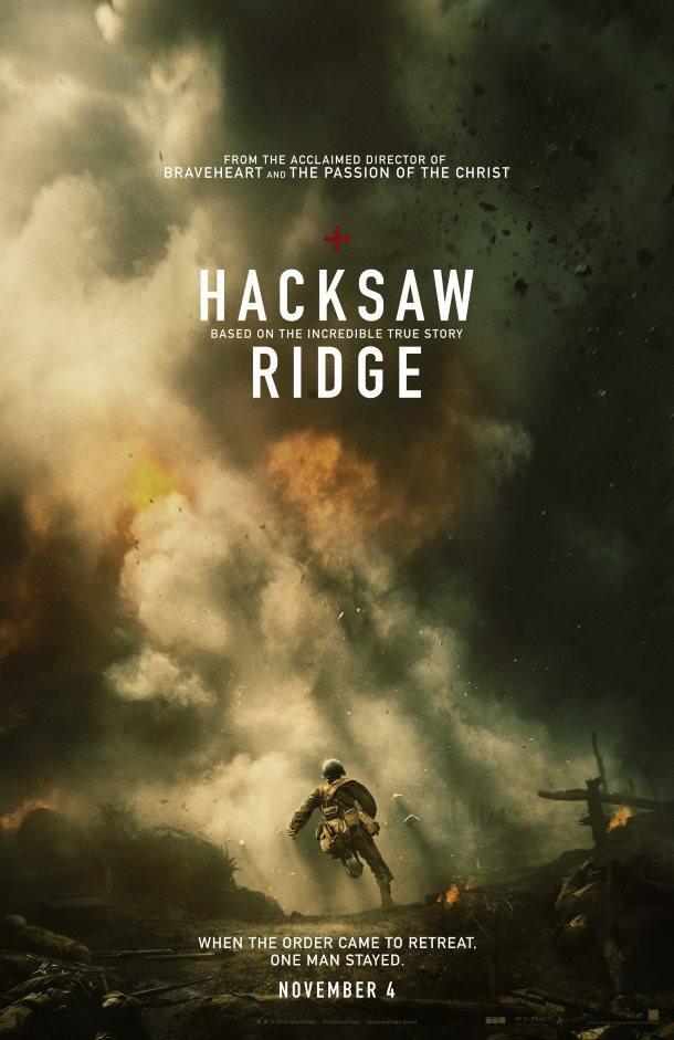 o heroi de hacksaw ridge melhores posters
