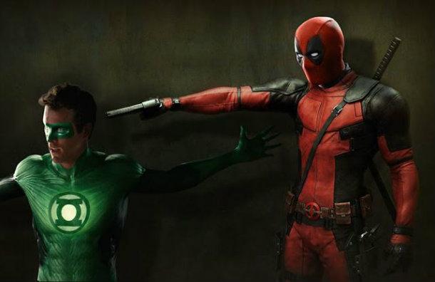 Green Lantern Ryan Reynolds fracasso