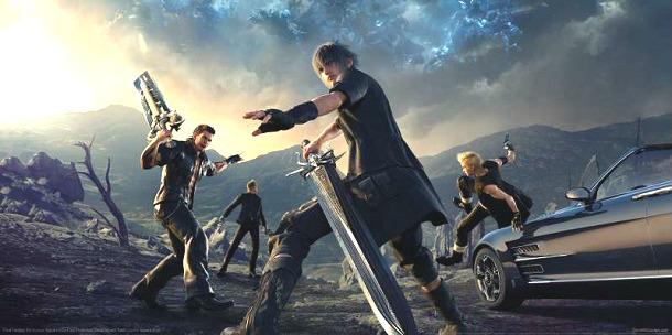 final fantasy xv videojogos