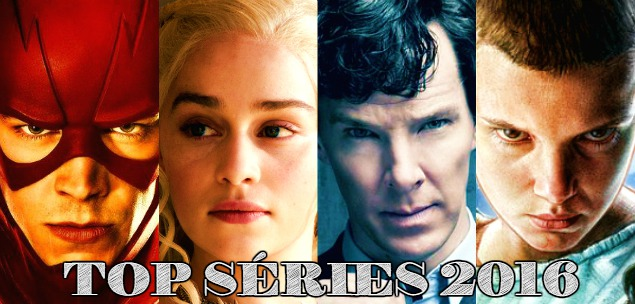 top séries 2016