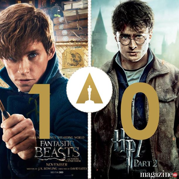 monstros fantasticos harry potter oscares