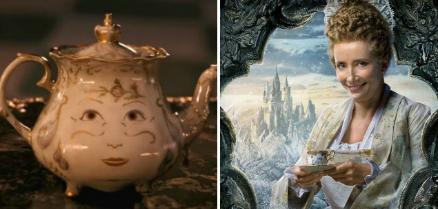 Mrs. Potts A Bela e o Monstro Emma Thompson